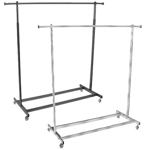 AF-RSR5475 Single Rolling Rack with Rectangular Tubing - DisplayImporter