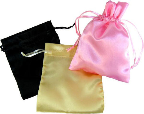 "BG-029 Delicate Satin Gift Bag 5.51"" x 4.33"" - DisplayImporter"