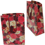 "BG-035 Garden Flowers Rope Tote Party Favor Gift Bags - 6.25"" x 4.25"" - DisplayImporter"