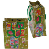 "BG-036 Euro-Handle Eurotote Bags - 5.5"" x 4.5"" Tulips (#k09g) - DisplayImporter.com - 5"
