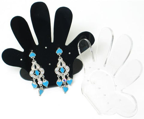DS-098large Hands Up Earrings Jewelry Display Stand - Large - DisplayImporter