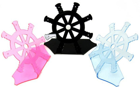 DS-120 Sailor's Steering Wheel Earring Display Stand  - DisplayImporter.com