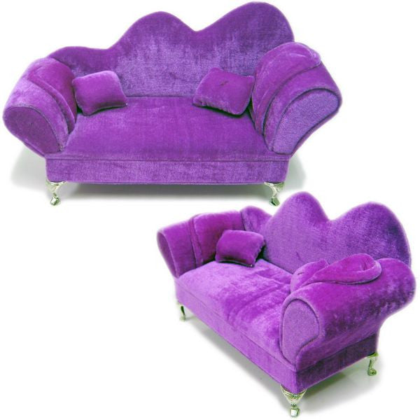 DS-167 Velvet Couch Jewelry Display  - DisplayImporter.com