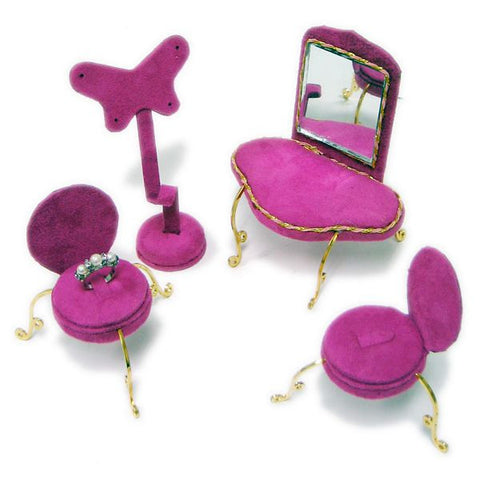 DS-172 Velvet Jewelry Furniture Display Set - DisplayImporter