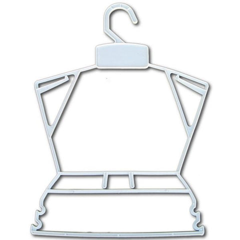 HG-038 Economical Children's Plastic Frame Hanger - DisplayImporter