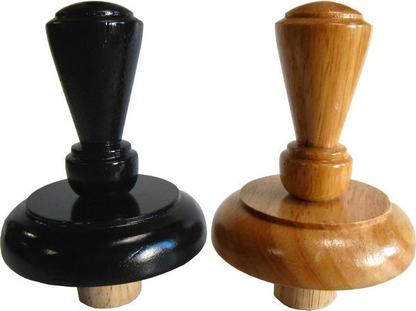 MA-023 Fairmont Finial Wood Neck Block for French Dress Forms - DisplayImporter
