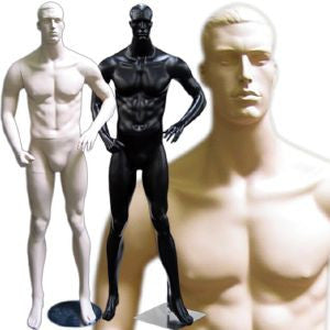 MN-112 Men's Full Size Standing Masculine Mannequin  - DisplayImporter.com - 1
