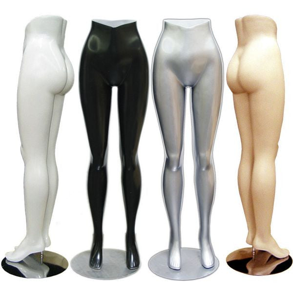 MN-118 Brazilian Style Female Lower Body Pants Mannequin Form - DisplayImporter