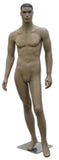 MN-140 African American Male Fashion Mannequin with Molded Hair  - DisplayImporter.com - 2