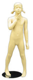 "MN-150 Young Standing Preteen Girl Child Mannequin 3' 11"" - DisplayImporter"