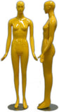 MN-165 Colorful Glossy Abstract Female Mannequin - DisplayImporter