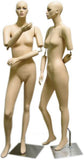 MN-192 Full Size Stylish Female Mannequin with Flexible Arms  - DisplayImporter.com - 2