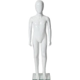 "MN-227 Glossy Abstract Unisex Child Full Size Mannequin 4' 3.25""  - DisplayImporter.com"