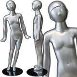 "MN-330 Abstract Unisex Preteen Mannequin 4' 3""  - DisplayImporter.com - 1"