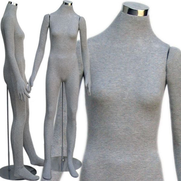 MN-403 Soft Flexible Headless Female Body Form  - DisplayImporter.com