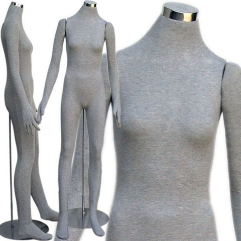 MN-403 Soft Flexible Headless Female Body Form - DisplayImporter