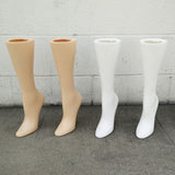 MN-AA17 USED 15'' Women's Freestanding Calf High Hosiery Leg Display (Final Sale) - DisplayImporter