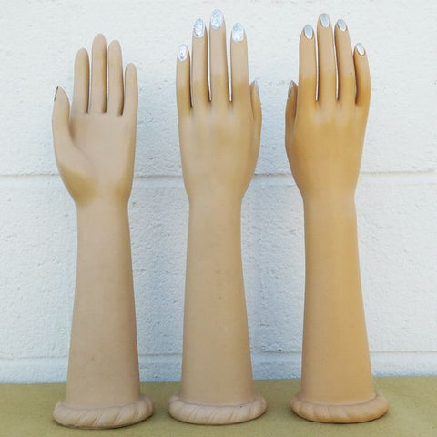 MN-AA2 USED Tall Female Glove and Jewelry Display Hand (FINAL SALE)  - DisplayImporter.com