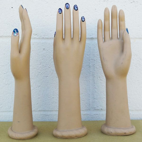 MN-AA3 USED Short Female Glove and Jewelry Display Hand (FINAL SALE)  - DisplayImporter.com