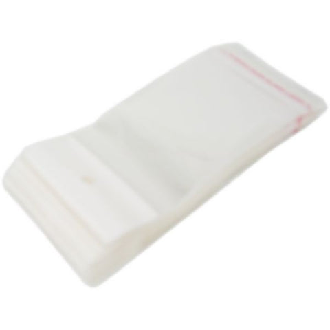 "PG-015 100 pcs Resealable Polypropylene Jewelry Bags - 5.12"" x 2.36""  - DisplayImporter.com"