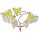 PG-020 100 pcs Butterfly Jewelry Hanging Tags  - DisplayImporter.com - 2