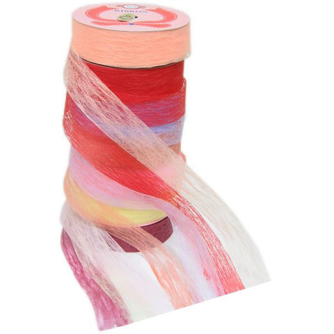 PG-034 Satin Blend Fiber Ribbon  - DisplayImporter.com