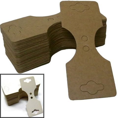 PG-077 100 pcs Blank Jewelry Hanging Tags  - DisplayImporter.com - 1