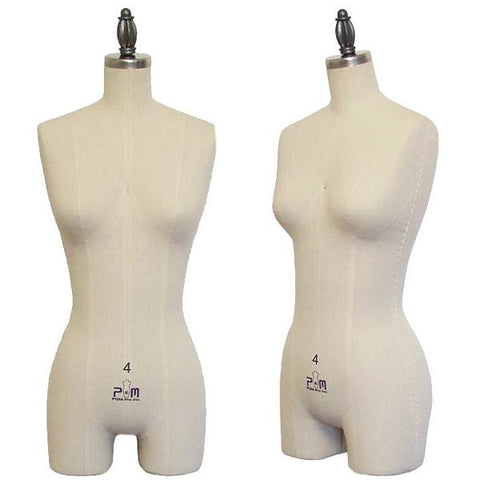PMP-602C Counter Top Lingerie and Bridal Dress Form  - DisplayImporter.com