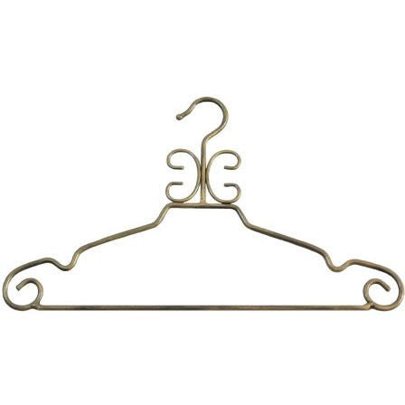 PMP-908A Antique Gold-Toned Metal Hanger  - DisplayImporter.com
