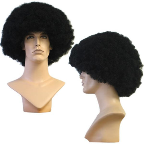 WG-017 Unisex Black Afro Style Wig - DisplayImporter