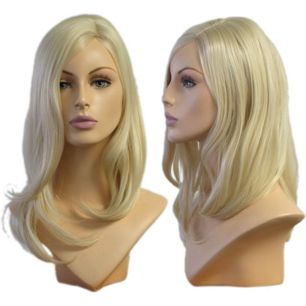 WG-019 Wavy Blonde Tina Wig  - DisplayImporter.com