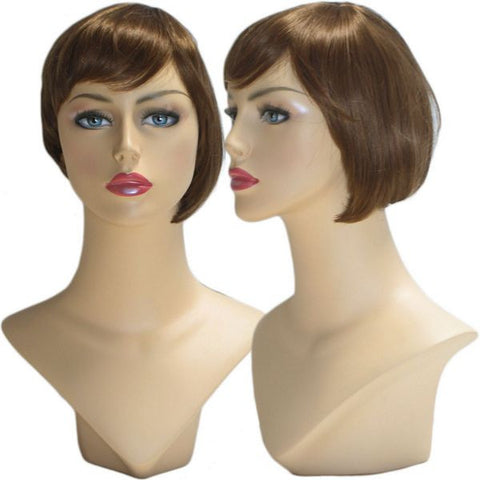 WG-036 Brunette Libby Female Wig - DisplayImporter