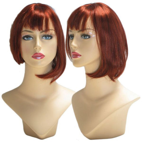 WG-037 Red Annabelle Wig  - DisplayImporter.com