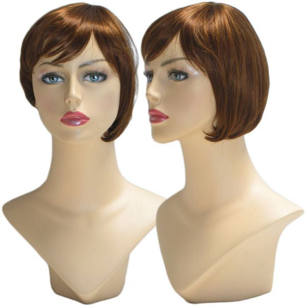 WG-038 Auburn Red Yvonne Wig  - DisplayImporter.com