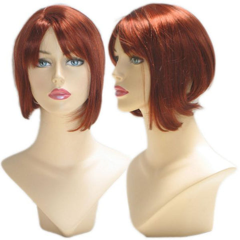 WG-041 Red Becky Female Wig - DisplayImporter