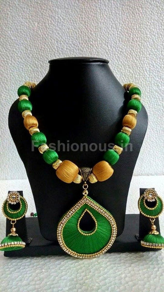Green and Gold neckset