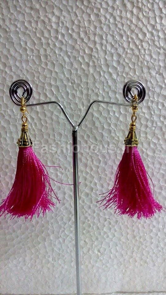 Pink Thread hangings