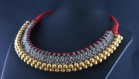 Antique Choker Necklace-ACN003