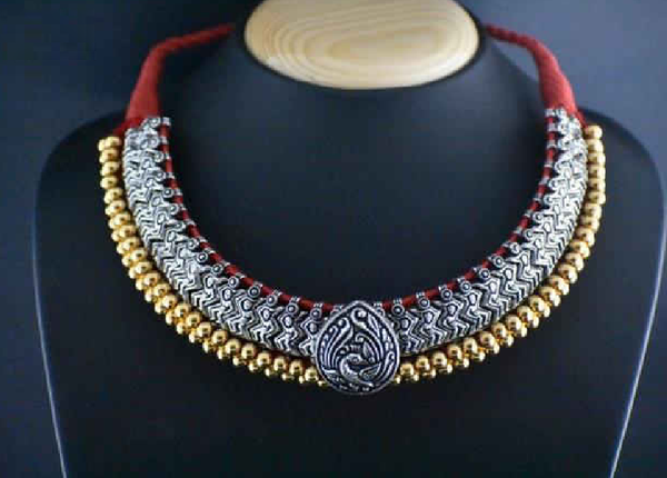 Antique Choker Necklace-ACN010