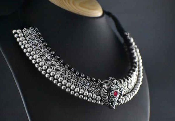 Antique Choker Necklace-ACN011