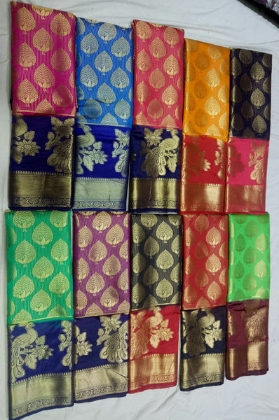 Balaton Semi Silk Paithani Saree-PS259