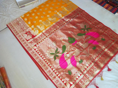 Balaton Silk Paithani Saree Design-PS228