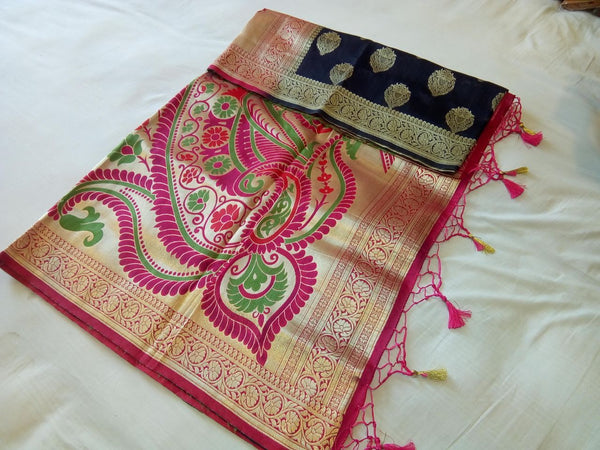 Balaton Silk Paithani Saree Design-PS229