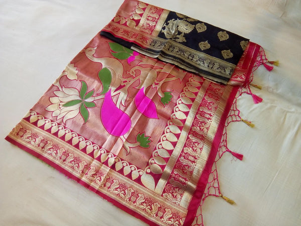Balaton Silk Paithani Saree Design-PS230
