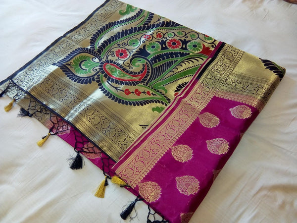 Balaton Silk Paithani Saree Design-PS231