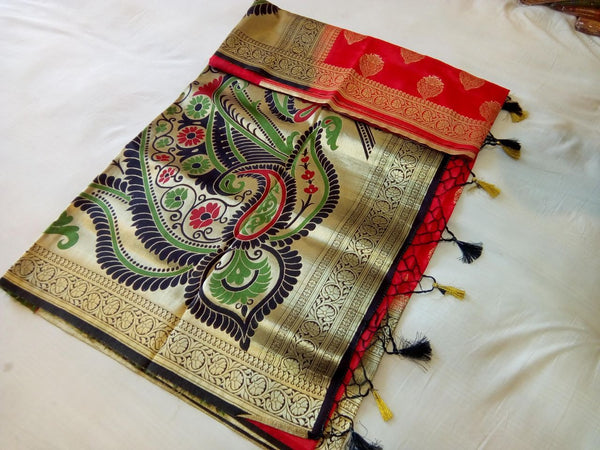 Balaton Silk Paithani Saree Design-PS232