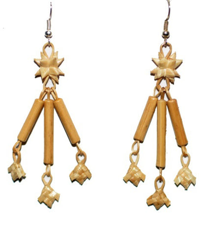 Bamboo Earrings-MBFER001