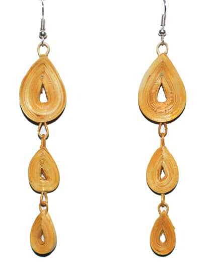 Bamboo Earrings-MBFER017
