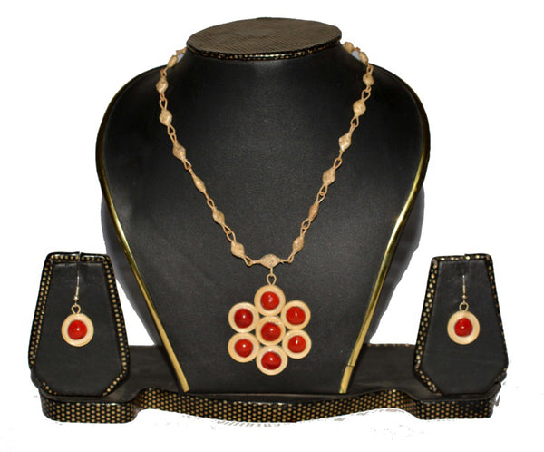 Bamboo Jewellery Set -MBFJN002