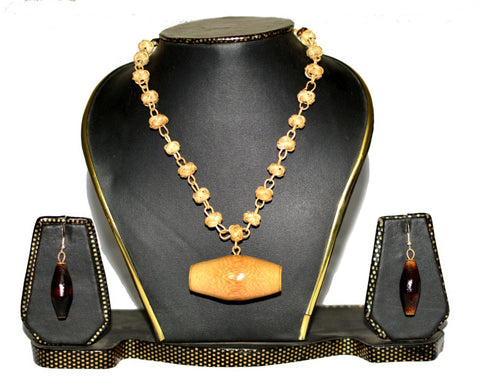 Bamboo Jewellery Set -MBFJN004